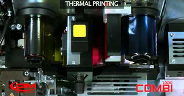 COMBI 1000 CARD PRINTING AND EMBOSSING  THE COMPLETE SOLUTION FOR CARD PERSONALIZATION SYSTEM