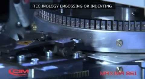 CIM MAXIMA 861: PROVEN RELIABILITY IN CARD EMBOSSING